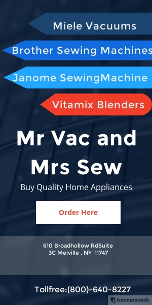 Quality Home Appliances By Mr Vac And Mrs Sew Bannersnack