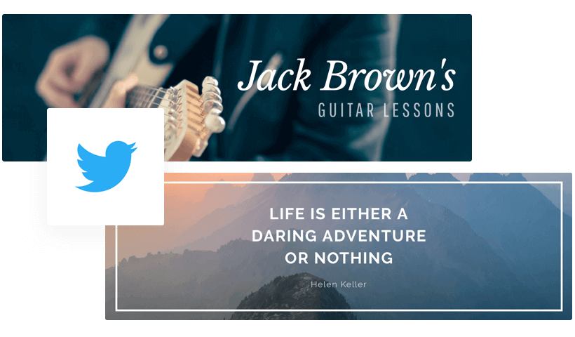 Free Twitter Header Maker - Create Twitter Banners Online